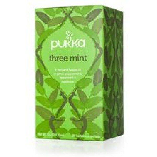 Pukka BIO tēja piparmētru Three Mint, 20pac.