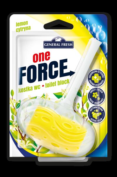 General Fresh tualetes bloks ar citrona aromātu 40g