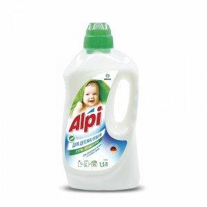 ALPI Sensitive - veļas mazgāšanas gēls bērnu apģērbam un delikātiem audumiem - 1,5 litri