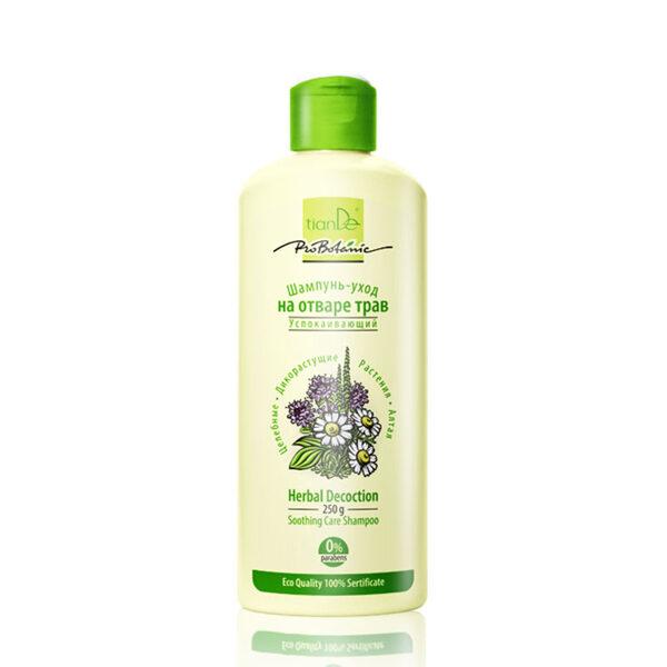 TianDe nomierinošs kopjošs augu izcelsmes novārījumu šampūns, 250g
