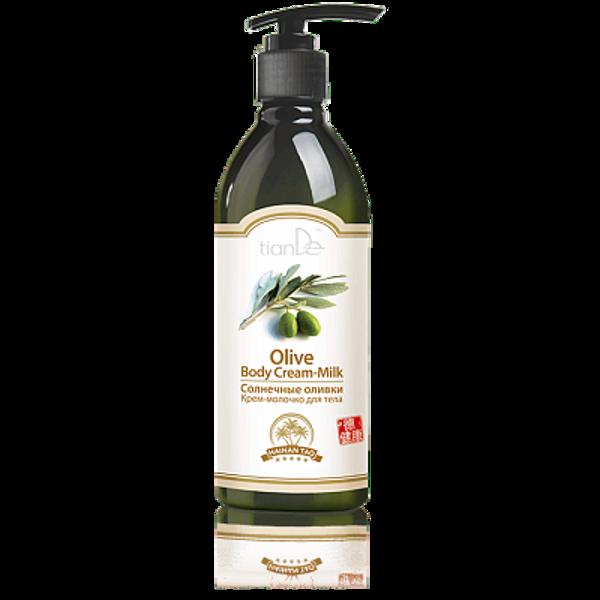 TianDe Sunny Olives ķermeņa krēms-pieniņš 350g