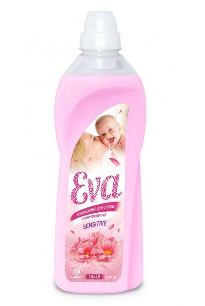 EVA Sensitive - koncentrēts veļas mīkstinātājs, maigs - 1 litrs