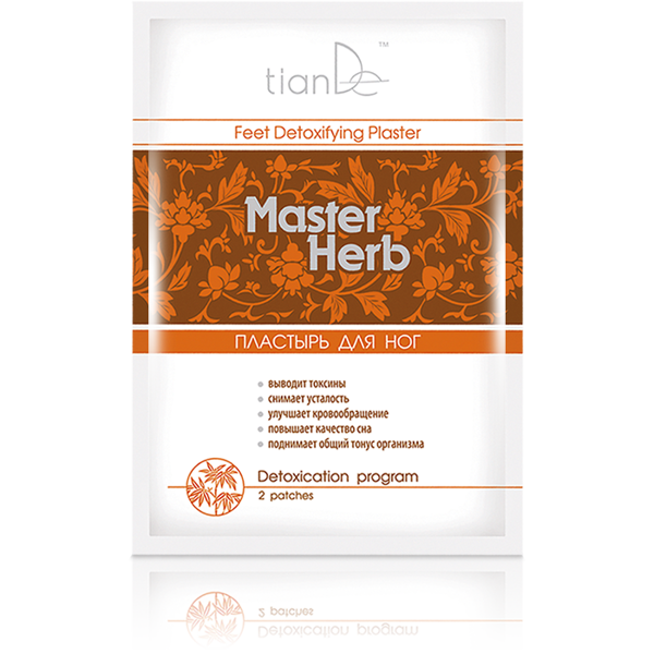 TianDe Master Herb kāju plāksteris 1gab