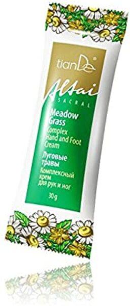 TianDe Meadow Grass komplekss roku un kāju krēms 30g