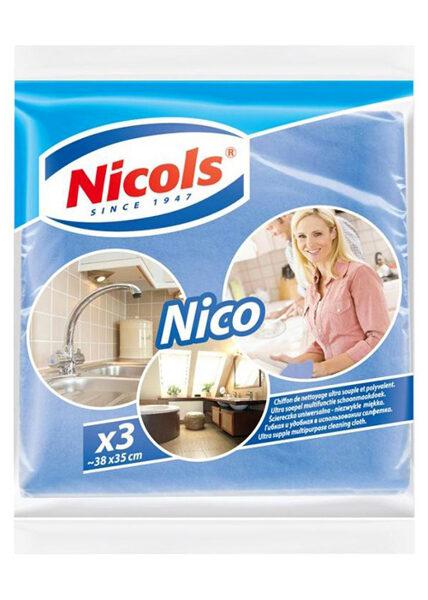 Nicos salvetes Nico, 38x35 cm, 3gb iepakojumā