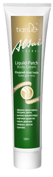 TianDe Liquid Patch sildošs krēms locītavām 125g