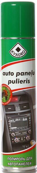 Kvadro auto paneļu tīrītājs un pulētājs spīdīgām virsmām (meža aromāts) 300ml