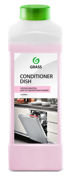 Conditioner Dish - skalošanas līdzeklis trauku mazgājamajām mašīnām - 1 litrs