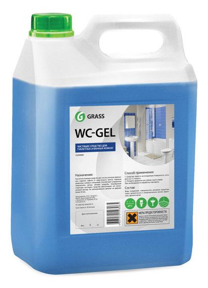 WC GEL - skābes tīrīšanas līdzeklis san-mezglam - 5 kg