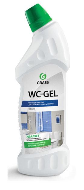 WC GEL - skābes tīrīšanas līdzeklis tualetei - 750 ml