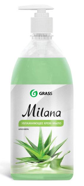 Milana Aloe Vera - šķidrās ziepes ar alvejas aromātu - 1 litrs