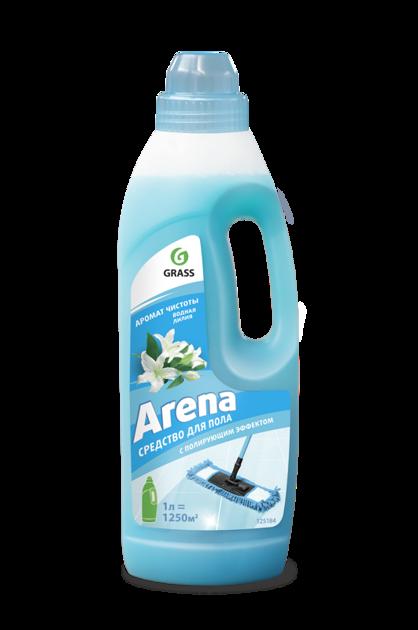 ARENA - GRĪDAS MAZGĀŠANAS LĪDZEKLIS AR PULĒJOŠU EFEKTU - ūdens lillijas aromāts - 1 litrs