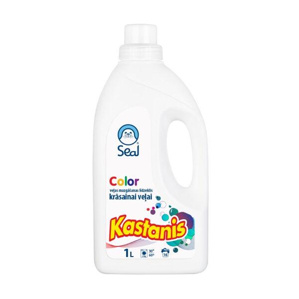 Seal Kastanis Color - detergent for colored linen 1l