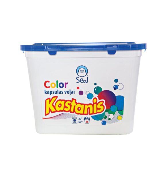 Kastanis Color – kapsulas veļas mazgāšanai, 26gab.