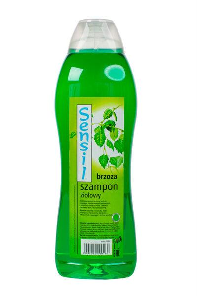 """Šampūns normāliem un taukainiem matiem """"Sensil Brzoza"""" 1l"""