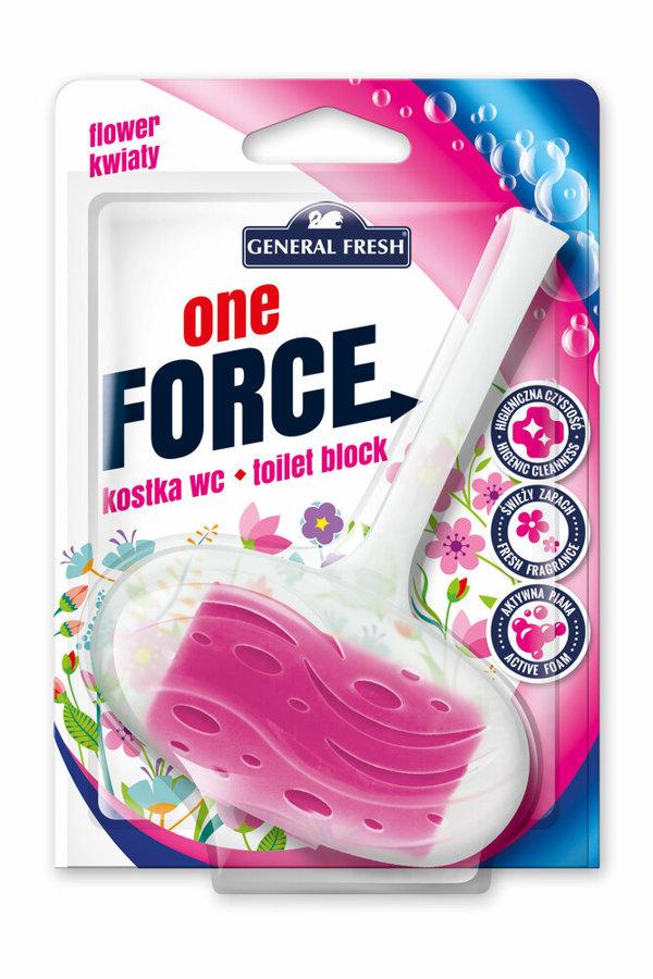 General Fresh tualetes bloks ar ziedu aromātu 40g