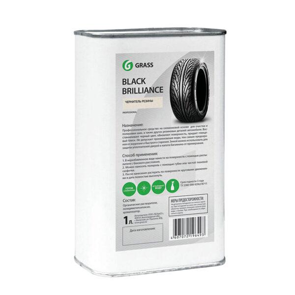 BLACK BRILLIANCE - gumijas auto detaļu tīrīšanai un aizsardzībai uz silikona bāzes - 1L