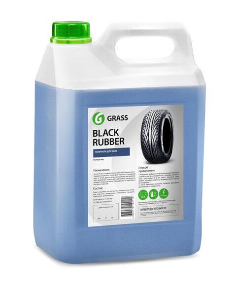 Black Rubber 1:3 - gumijas auto detaļu tīrīšanai un aizsardzības līdzeklis - 5kg