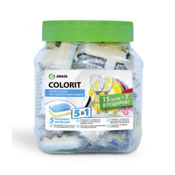 COLORIT - tabletes trauku mazgājamajai mašīnai - 16 gab.
