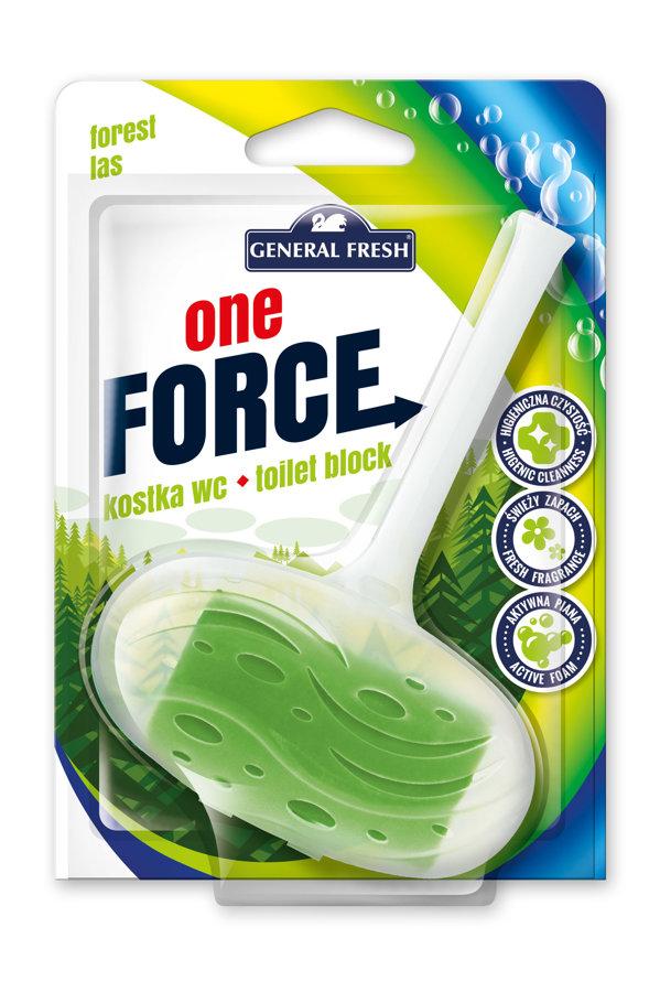General Fresh tualetes bloks ar meža aromātu 40g