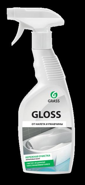 GLOSS - efektīvs tīrīšanas līdzeklis vannai un duškabīnēm ar spīduma efektu - 600 ml