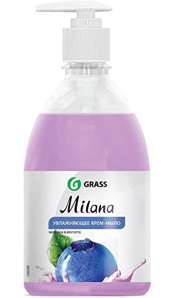 Milana Blueberries in yogurt - šķidrās ziepes ar melleņu jogurta aromātu - 500ml