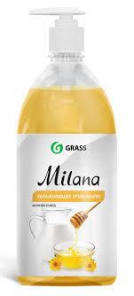 Milana Milk & Honey - šķidrās ziepes ar medus - piena aromātu - 1 litrs