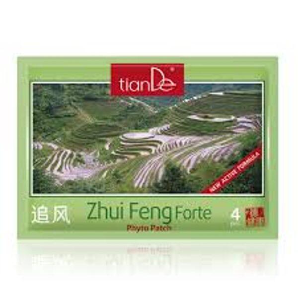 TianDe Zhui Feng Forte kosmētiskais ķermeņa fito plāksteris 4gab.