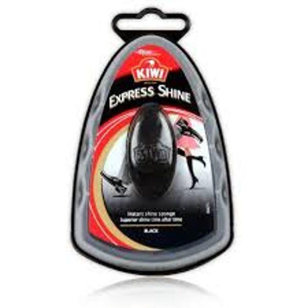 """Švamme apavu spodrināšanai """"KIWI Express Sponge"""" (melna)"""