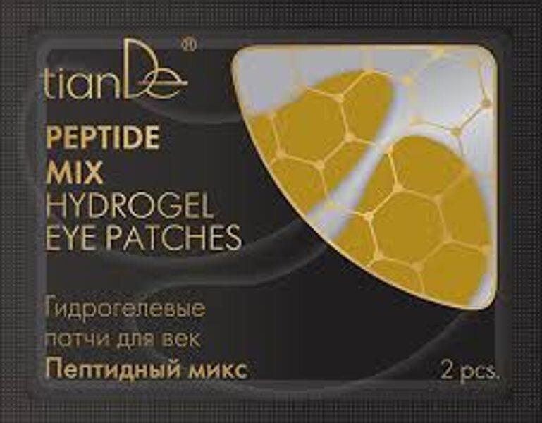 TianDe Peptide Mix hidrogēla acu plāksteri 2gab.