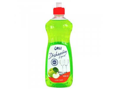 Trauku mazgāšanas līdzeklis ARLI CLEAN ar ābolu aromātu, 500 ml
