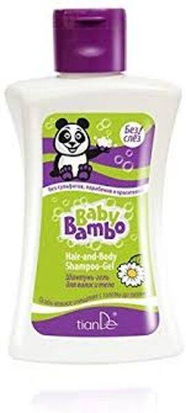 TianDe Baby Bambo matu un ķermeņa šampūns-želeja 250 g