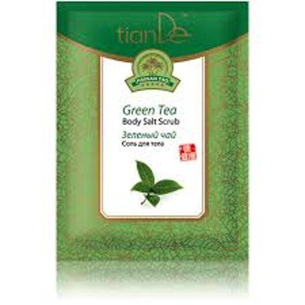 TianDe Green Tea ķermeņa sāls - skrubis 60g