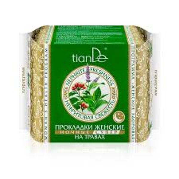 """TianDe nakts higiēniskās paketes """"Nefrīta Svaigums"""", super 10gab."""