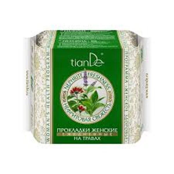 TianDe Herb Daily biksīšu ieliktņi Nefrīta svaigums 20gab