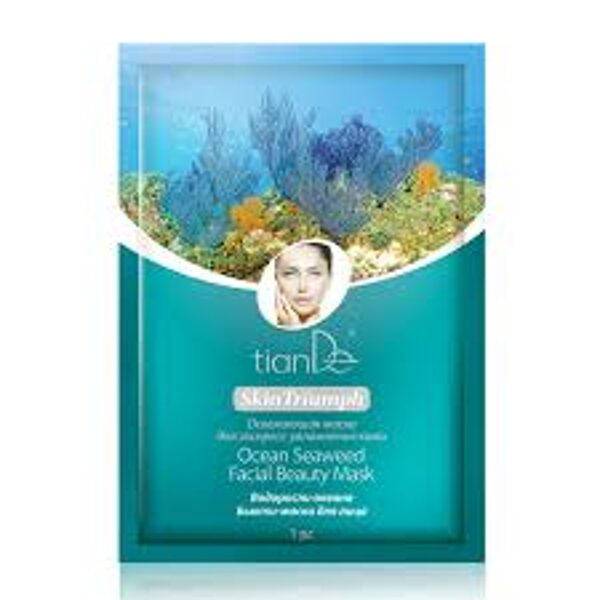 TianDe Ocean Seaweed sejas skaistuma maska 1gab.