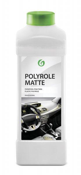 Grass Polyrole Matte - plastikāta pulēšanas līdzeklis ar matējošu efektu - 1l