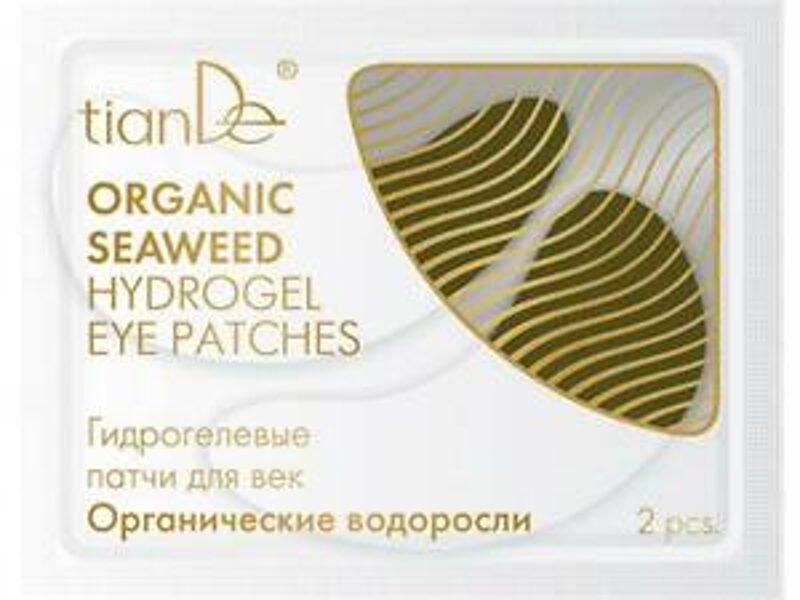 TianDe Organic Seaweed hidrogēla acu plāksteri 2gab.