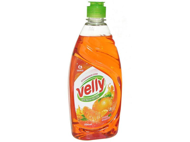 Trauku mazgāšanas līdzeklis Velli sulīgais mandarīns, 500 ml