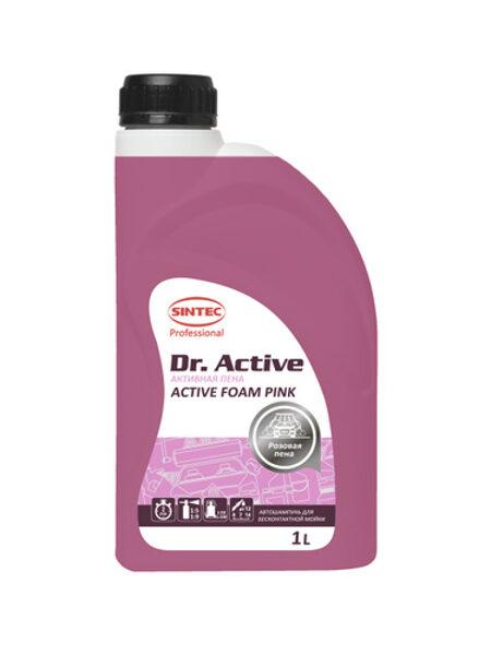 Sintec Active Foam Pink - aktīvās putas bezkontakta auto mazgāšanai 1l