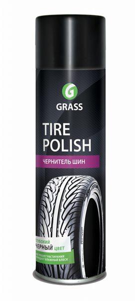 Grass Tire Polish automašīnas riepu tīrīšanas/spodrināšanas līdzeklis (aerosols) 650ml