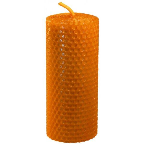Bišu vaska svece tīta 12,5 cm